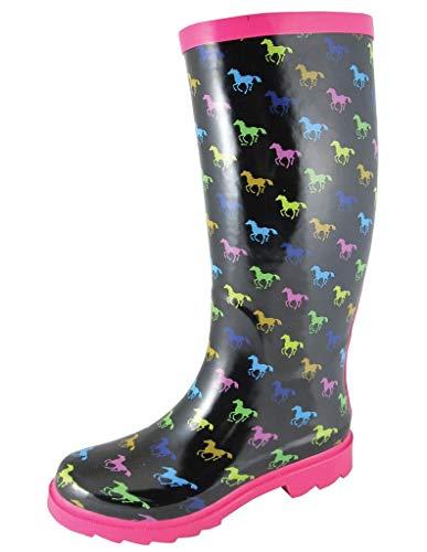Smoky Mountain Damen Ponys Gummi Stiefel