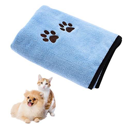 Balacoo Hond Handdoek Super Absorberende Sneldrogende Handdoeken Huisdier Badjas Deken Met Zachte Microfiber Voor Honden Katten (50X90cm)