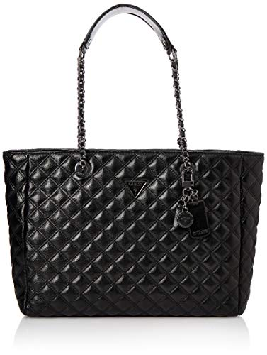 Guess CESSILY Tote, Flap Bags Woman, Black, One Size