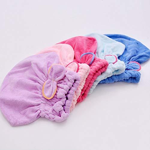 Vrouwen Microfiber Magic Haar Drogen Turban Wrap Handdoek/Hoed/Cap Snelle Droge Droger Bad