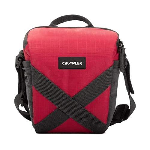 Crumpler qdp150–003Quick Delight Toploader 150Universal Bolsa de Hombro para videocámara/cámara Puente, Color Rojo