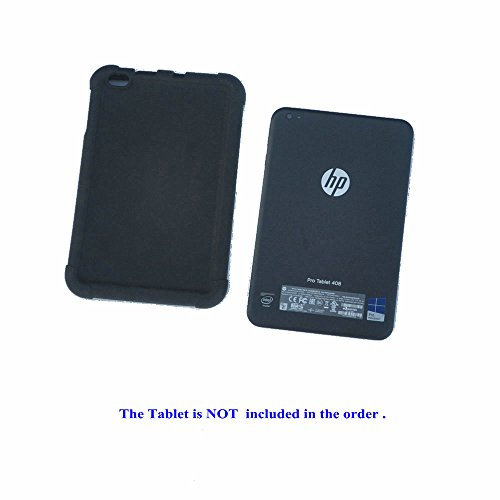 HP Pro Tablet 408 G1 Case MingShore Silicone Rugged Case For HP 8 Inch Tablet 408 G1 Bumper Cover Black