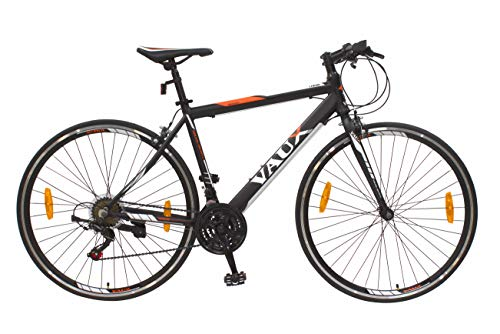 """Vaux 28"""" Adults Bicycle 700c Xtreme Bike Comfortable Cycle for Men-Black"""