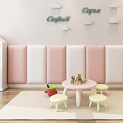 Panel decorativo - Muro Acolchonado/No Toxico/6pz/ 3.5cm Grosor (Babygirl)