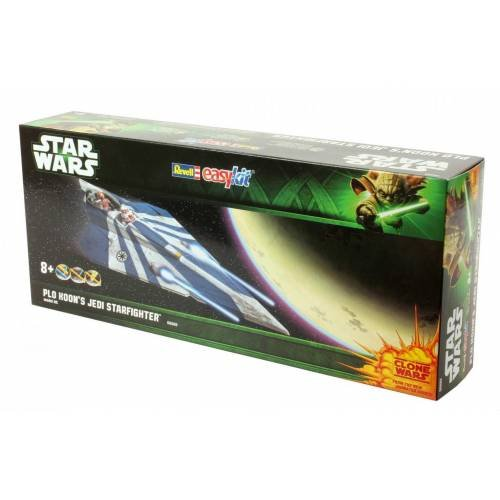 Revell Plo Koon's Jedi Starfighter Assembly Kit Spaceplane