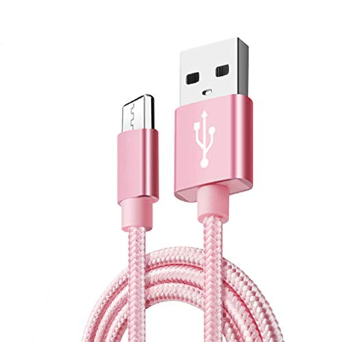 GYJ usb-gecertificeerde type C-kabel naar een oplader bliksemsnel oplaadkabel extra lang gevlochten snel snoer nylon duurzaam gecertificeerd snel gegevens-Sync en opladen (3,3ft)