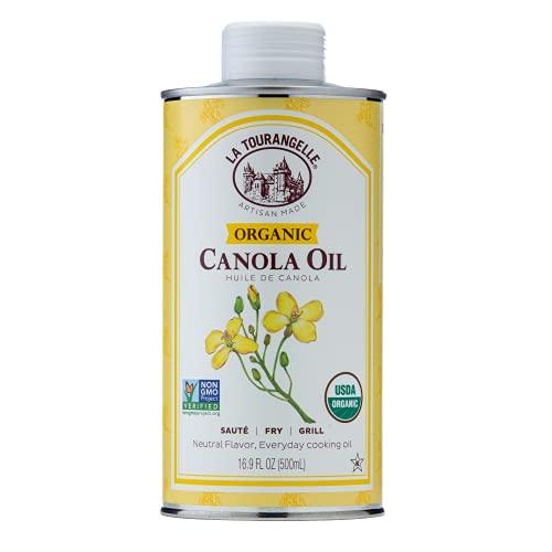 Organic Canola Oil 16.9 Fl. Oz, All-Natural, Artisanal