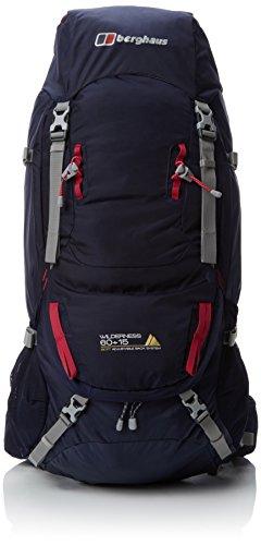 Berghaus Wilderness 65 Plus 15 Hiking Backpack Homme - Bleu (Soir Bleu / Cerise Foncé)