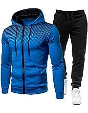 Sanfiyya herfst 2 Piece Sportwear Set Herenkleding Mens Casual shirts + broek 3D Printed Hoodies Mens Tracksuit