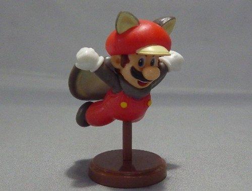 Furuta Choco Egg~new Super Mario Bros U Figure ~Super Rare Chase Geheimnis Version~ Mario Flying Squirrel Suit ~Figurine