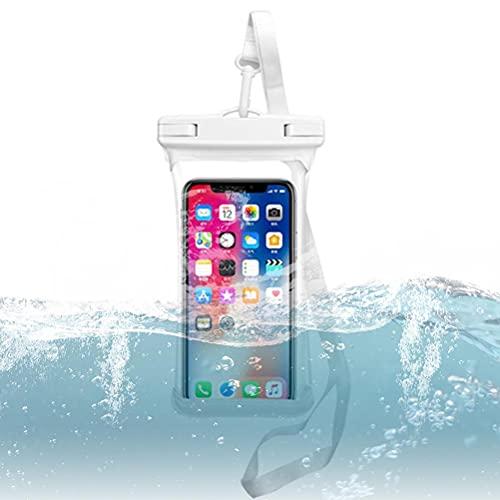 Ububiko Funda Impermeable para Smartphone Funda Universal Ipx8 Funda Impermeable para Teléfono A-Pple iPhone Pro XS XR XS/Samsung S10 S10 + S9 + S9 S8 +