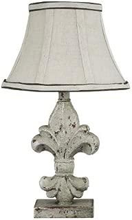 AHS Lighting L2073A-UP1 Fleur De Lis Acccent Lamp, 2
