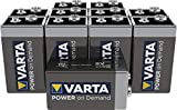 Pila de 9 V VARTA Power on Demand. Paquete de 10 unidades - inteligente, flexible y potente para consumidores móviles finales