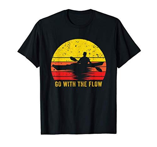 Kayak Shirt Whitewater Canoeing Gift Kayaker Kayaking T-Shirt