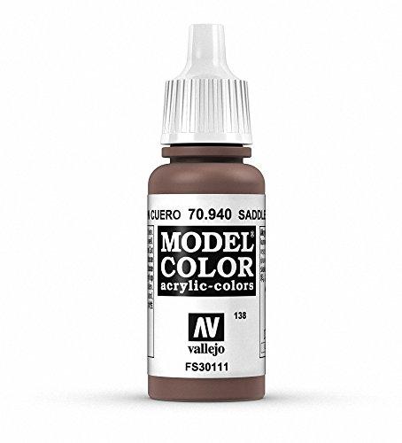 Vallejo Peinture acrylique pour modélisme 17 ml Marron selle