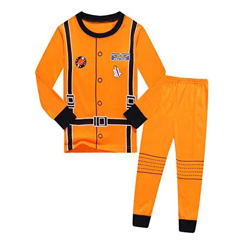 Schlafanzug für Kleinkinder, Baby, Jungen, Mädchen, lustig, Cosplay, Polizei, Astronaut, Arzt, Pyjama, Nachtwäsche, Halloween, Uniform, Kostüme Gr. 2 Jahre, Astronaut