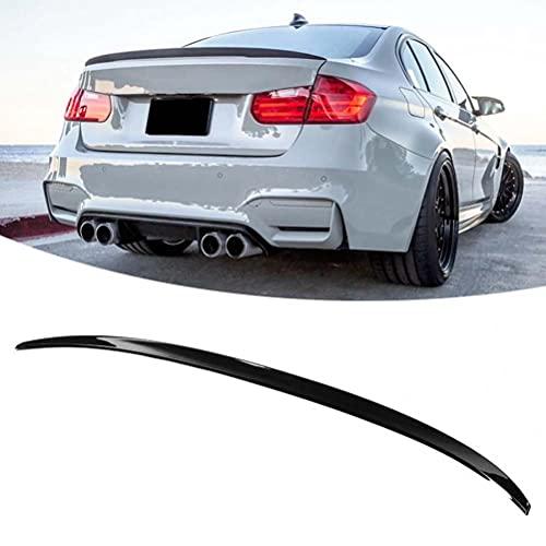 Alerones de coche, alerón trasero para maletero, para BMW 3 Series F30 M3 F80 2013-2019, reacondicionado para estilo M3, negro brillante