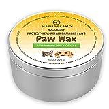 Natureland [8 oz] Organic Paw Wax for Dogs...