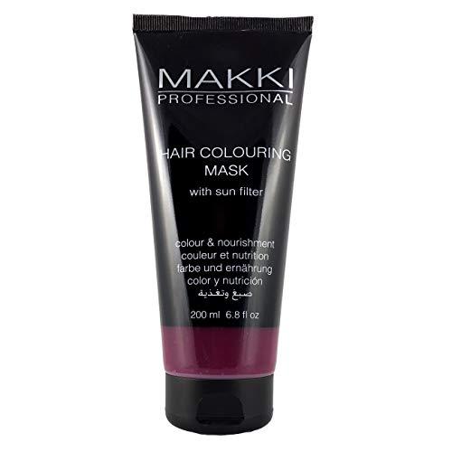Makki semi-permanente Haarfärbung Maske farbe und ernährung Fuchsie/Fuchsia