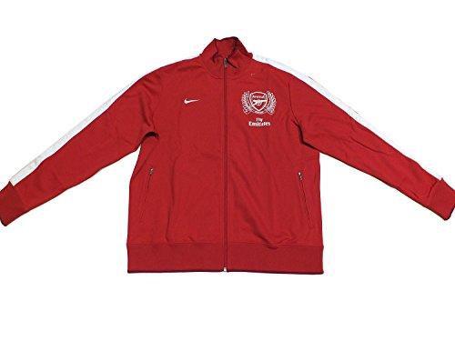 Nike Arsenal Training Jacke 423997 Rot 620 EDEL, Farbe:rot, Textilien Größen:XXL