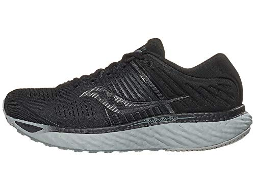 Saucony Women's Triumph 17, Blackout, 6.5 Medium