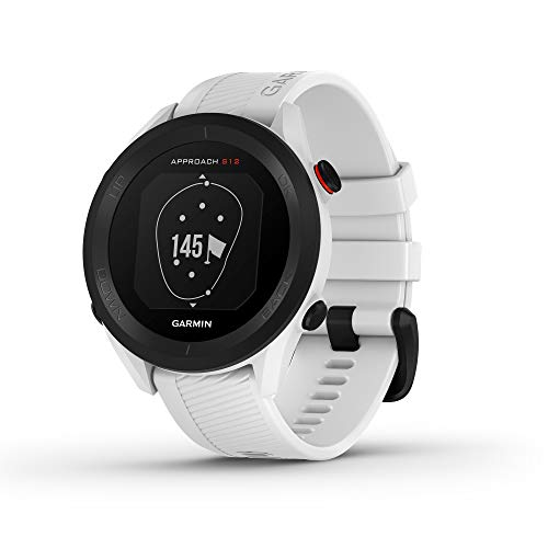 Garmin Approach S12, Easy-to-Use GPS Golf Watch, 42k+ Preloaded Courses, White, 010-02472-02