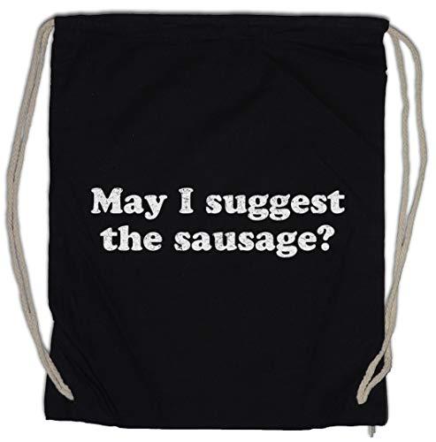 Urban Backwoods May I Suggest The Sausage Bolsa de Cuerdas con Cordón Gimnasio
