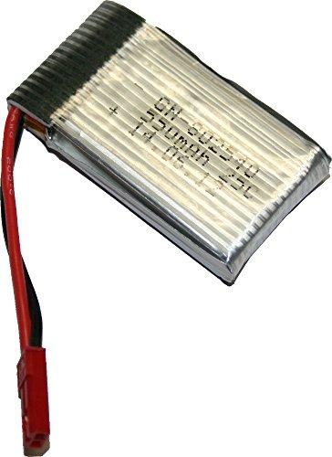 MikanixX® Spirit X009 Original Ersatzakku / Zusatzakku LiPo, (NICHT passend für Spirit X006/ Rayl. X6(310B)) auch passend für diverse andere Modelle, wie z.B. UDI, Hubsan, etc.
