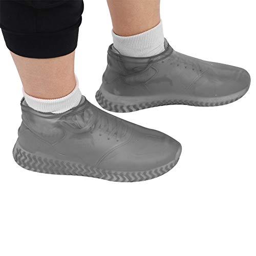 MAGT Cubrezapatos De Silicona, Silicona Cubrezapatos Botas de Lluvia Impermeables del resbalón Lluvia Zapato Resistentes a la Lluvia de Nieve