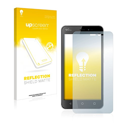 upscreen Entspiegelungs-Schutzfolie kompatibel mit Wiko Freddy – Anti-Reflex Bildschirmschutz-Folie Matt