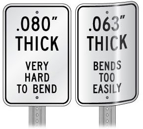 """Metal traffic Sign: 36"""" X 12"""" One Way (Left) Photo #2"""