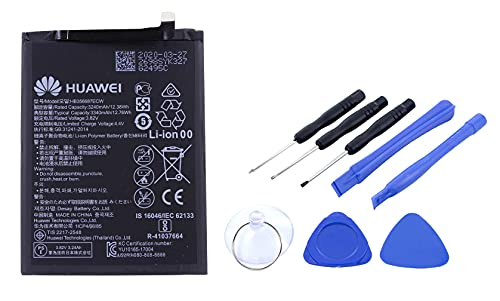 Akku für Huawei P30 Lite - Ersatzakku Li-Ion mit 3340mAh - Huawei Original-Zubehör inklusive Werkzeug Set