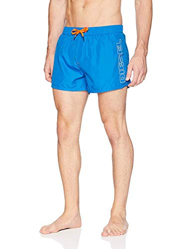 Diesel Herren BMBX-Sandy 2.017 Swim Boxer Short Badehose, blau, X-Large
