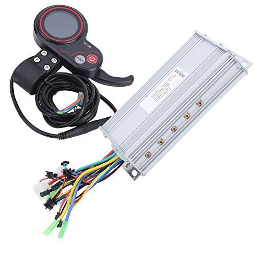 Aoutecen Controlador de Bicicleta eléctrica LCD Thumb Shifter LH100 60V, para Trail Riding(1000W)