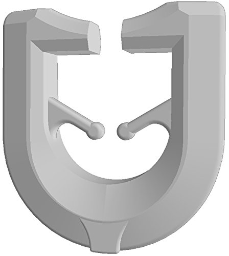 Gardineum 100 x T-Gleiter (700) Gardinenschiene Gardinenhaken Gardinenzubehör für T-Schienen weiß