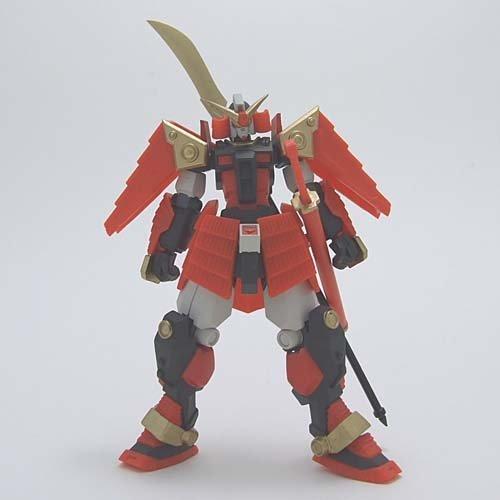 Gundam series equestrian warrior Den realistic type Figure 1 to Musha Šæ'Ê Yikes single item: Warrior Šæ'Ê Mu
