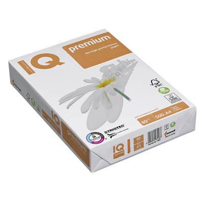 Mondi IQ Kopier- u. Uws-Kopierpapiere, Seide, Weiss - Kleinformat Premium Druckerpapier, 80 g/m², A4, 500 BL