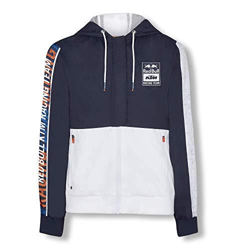 Red Bull KTM Letra Jacke, Blau Damen Large Mantel, KTM Racing Team Original Bekleidung & Merchandise