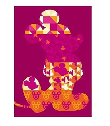 ABC Tappeti Viva Disney Comfort Line CL Mickey Patchwork 133 x 190 cm