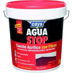 AGUASTOP CEYS – Antigoteras Caucho Terracota Aguastop Ceys 5 Kg