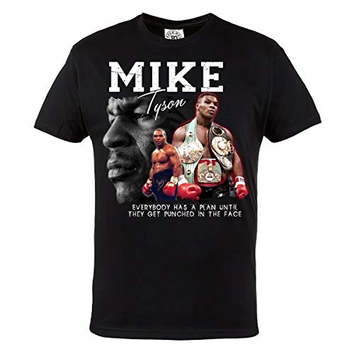 Boxing Mike Tyson 100% Cotton Men's T-Shirt