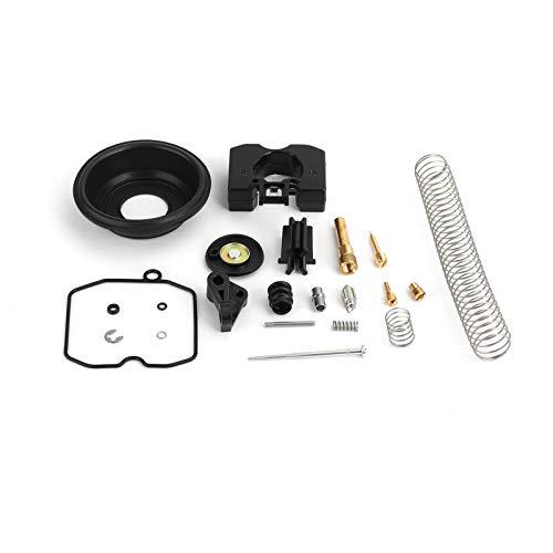Bruce & Shark Kit di ricostruzione riparazione carburatore adatto per Xl 883 Xl 1200 Cv40 27421-99C 27490-04 Cv 40mm