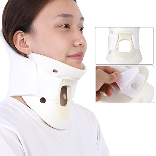 Breathable Neck Brace, Cervical Collar Neck Support Pain Relief Neck Orthosis Braces for Neck and Upper Back Relief Pain, Dizziness and Limb Numbness(M)