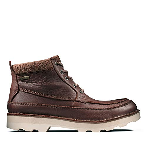 Clarks Herren Korik Rise GTX Chelsea Boots, Braun (British Tan), 47 EU