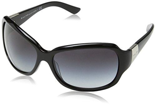 Ralph Lauren Purple Label Damen RA5005 Sonnenbrille, Schwarz (Black 501/11), One size (Herstellergröße: 60)