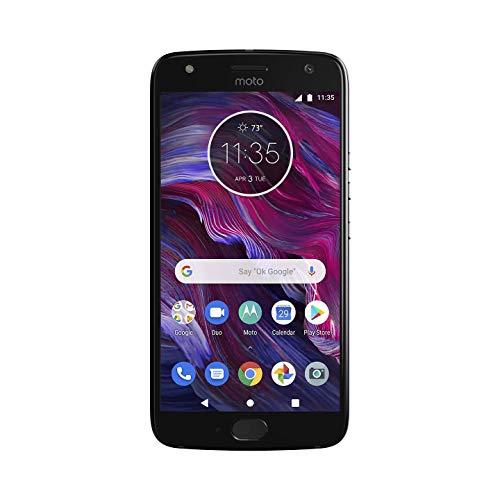 Motorola Moto X4 Factory Unlocked Phone - 32GB - 5.2in - Super Black - PA8S0006US (Renewed)
