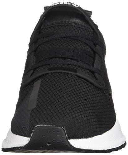 adidas Originals U_Path Run Shoes, Zapatillas Deportivas. Hombre, Negro Blanco E Negro, 36 EU