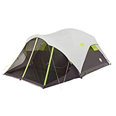 6-person dome tent features a separate screen room for insect-free lounging and extra sleeping space Fast Pitch tent design sets up in about 7 minutes WeatherTec system and rainfly keep tent interior dry and comfortable Durable Polyguard fabric and s...