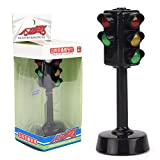 Deyan Semaforo Toy Giocattoli educativi precoci Divertenti Toy Traffic Lights Model Toys Traffic Toys(Black)