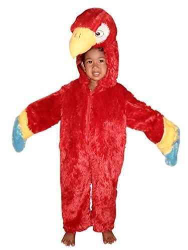 Papageien-Kostüm, F32 Gr. 86-92, Papagei für Klein-Kinder, Papageien-Kostüme Babies, Kinder-Kostüme Fasching Karneval, Kinder-Karnevalskostüme, Faschingskostüme, Geburtstags-Geschenk